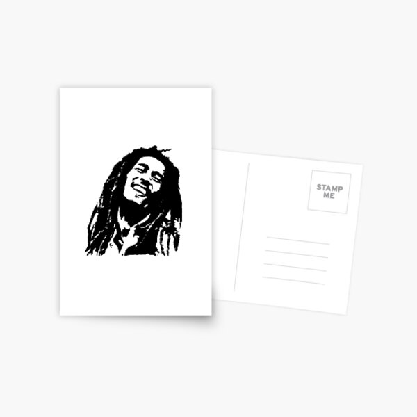 GIFTS AND PORTRAITS of Bob the King of Reggae GIFTS FOR YOU IN 2020 Postcard