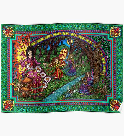 The Fairy Glade Poster