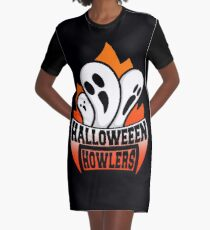 Halloween Howlers Graphic T-Shirt Dress