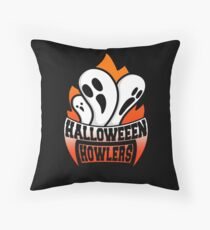 Halloween Howlers Throw Pillow