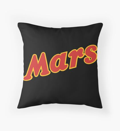 Women are from Venus, men are from... Throw Pillow