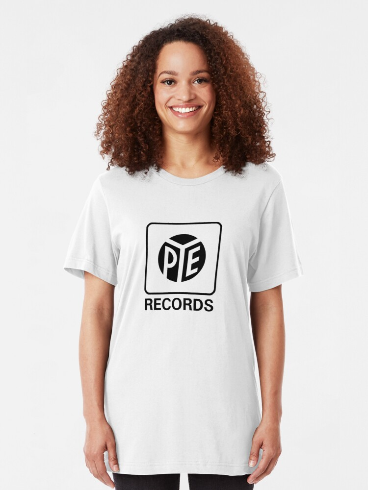 Alternate view of Pye records Slim Fit T-Shirt