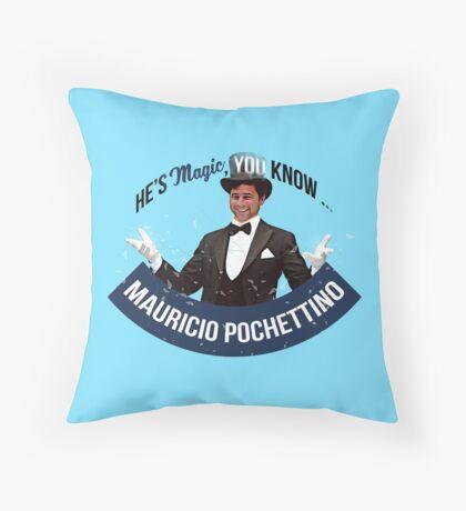 Pochettino He's magic Throw Pillow