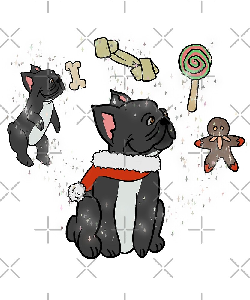 Funny French Bulldog Merry Xmas Wishes Christmas\