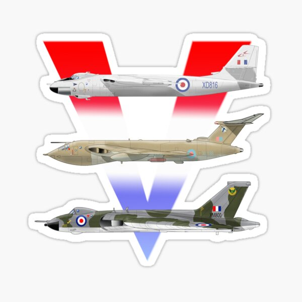 V BOMBERS Sticker