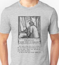 Grimm's Fairy Tales The Elves and the Cobbler Page One Unisex T-Shirt