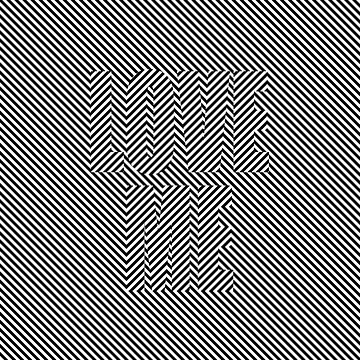 Love Me - Optical Illusion  by gravtee