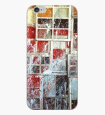 Painted Urban Windows iPhone Case