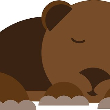 Sleepy Bear by chwbcc