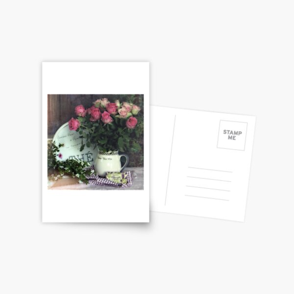 Old roses Postcard