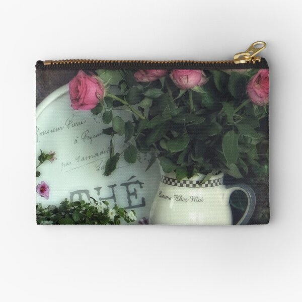 Old roses Zipper Pouch