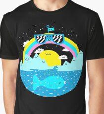 Rainbow Space World Graphic T-Shirt