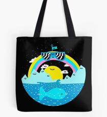 Rainbow Space World Tote Bag