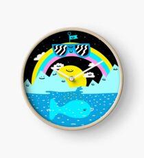 Rainbow Space World Clock