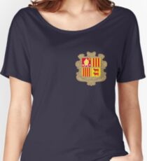 Andorra coat of arms Women's Relaxed Fit T-Shirt