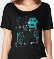 By basquiat Women's Relaxed Fit T-Shirt