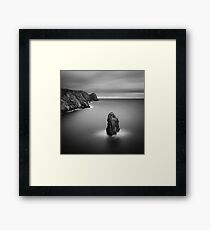 Donegal Sea Stack Framed Print