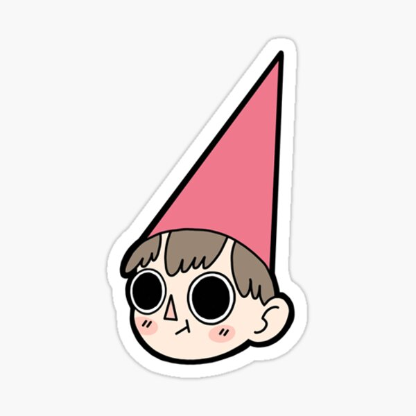 """Wirt from """"Over the Garden Wall"""" Sticker"""