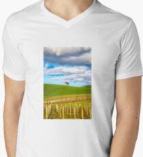Single tree V-Neck T-Shirt