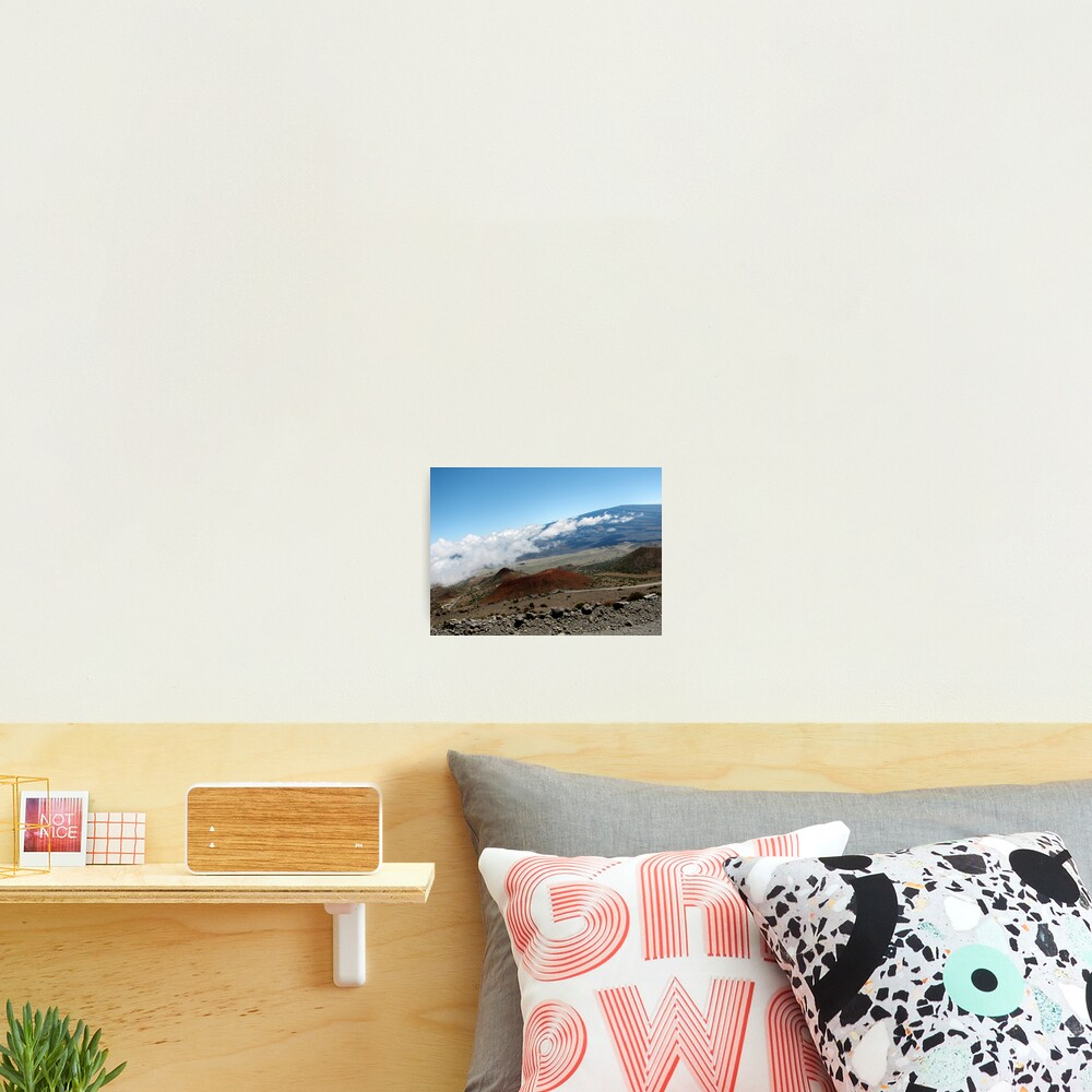 View from Mauna Kea Photographic Print