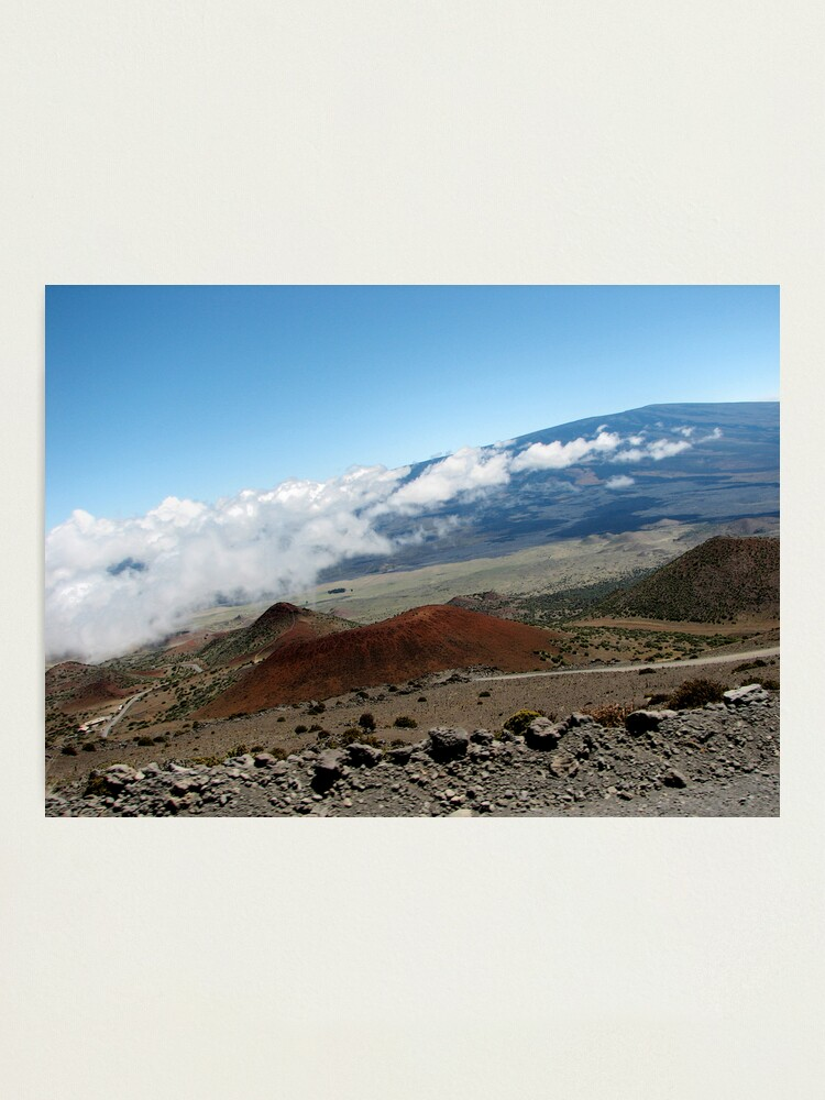 Alternate view of View from Mauna Kea Photographic Print