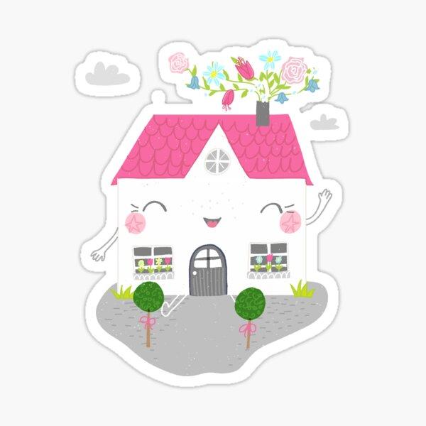 My little sweet home  Sticker