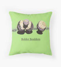 Bolder Boulders Throw Pillow