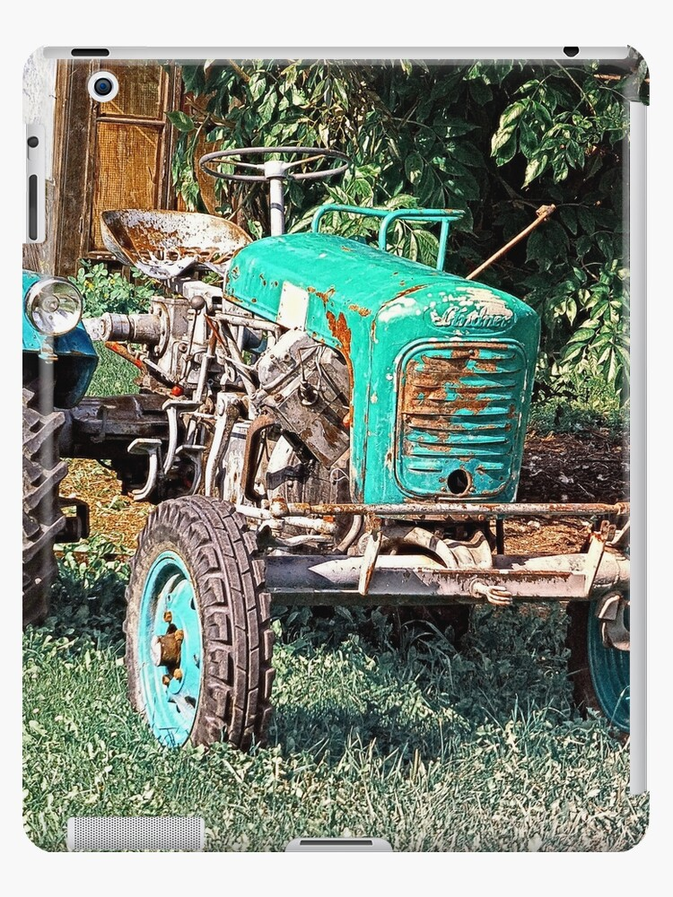 Old traditional Lindner tractor | conceptual photography by Patrick Jobst