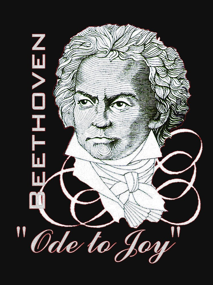 "Beethoven Portrait ""Ode to Joy"" by edsimoneit"