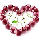 Cherries heart by 6hands