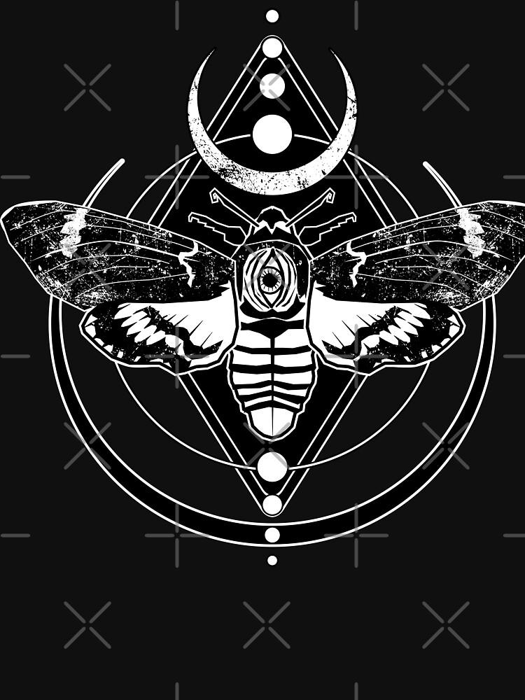 Death moth by VonKowen