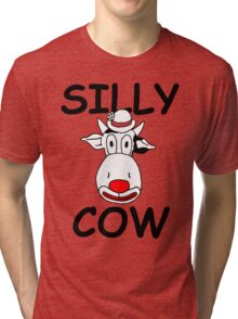 Silly Cow Tri-blend T-Shirt