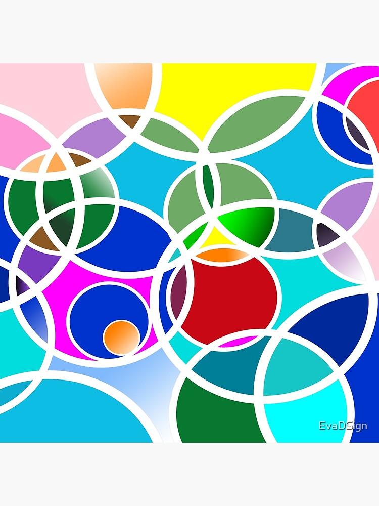 Bunte Ringe - Colorful rings von EvaDSign
