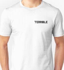 Lil Peep Terrible in Black Unisex T-Shirt