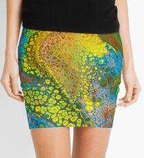 Octopus Abstract Mini Skirt