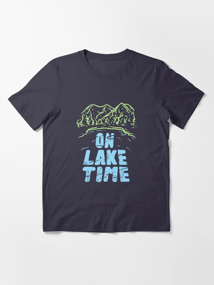 Alternative Ansicht von On Lake Time - Funny Boat Gift Essential T-Shirt
