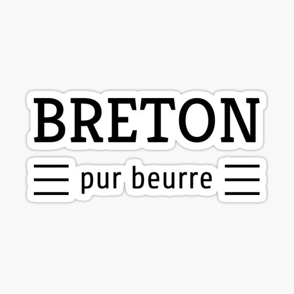 Bretagne / Breizh / Bzh Sticker