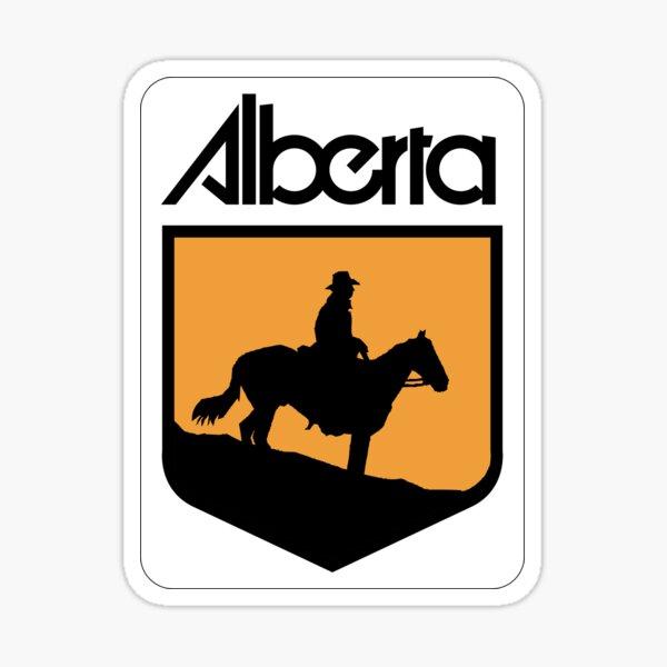 Alberta Highway 22 (Cowboy Trail) | Canada Highway Shield Sign Sticker Sticker
