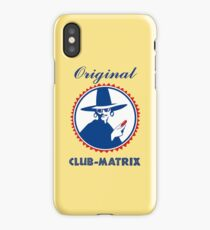 Original Club-Matrix iPhone Case/Skin