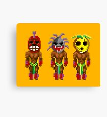 Monkey Island's Cannibals (Monkey Island) Canvas Print
