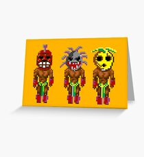 Monkey Island's Cannibals (Monkey Island) Greeting Card