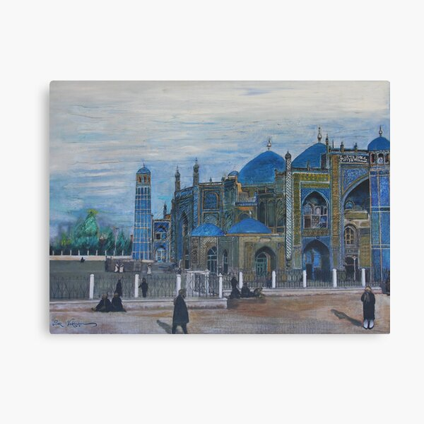 Mazar-i-sharif Canvas Print