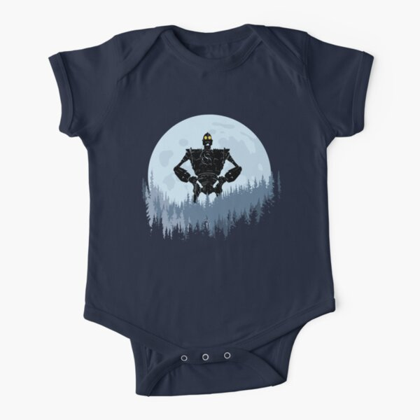 The Iron Giant Short Sleeve Baby One-Piece