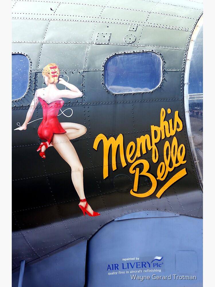 Memphis Belle Nose Art by redmoondragon