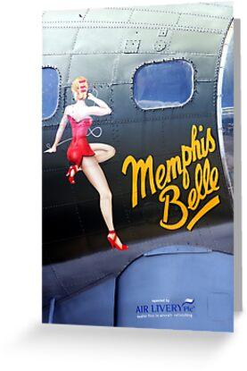 Memphis Belle Nose Art by Wayne Gerard Trotman