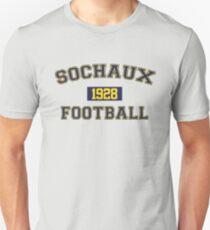 Sochaux Football Athletic College Style 1 Gray Unisex T-Shirt