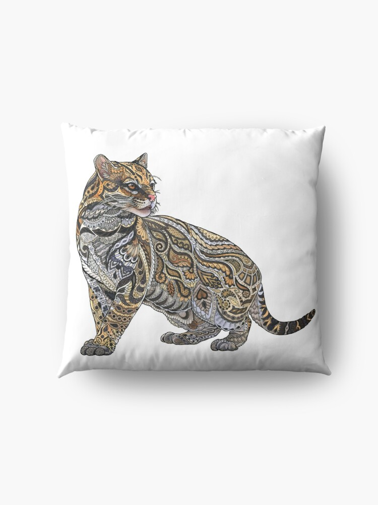 Alternate view of Ocelot Floor Pillow