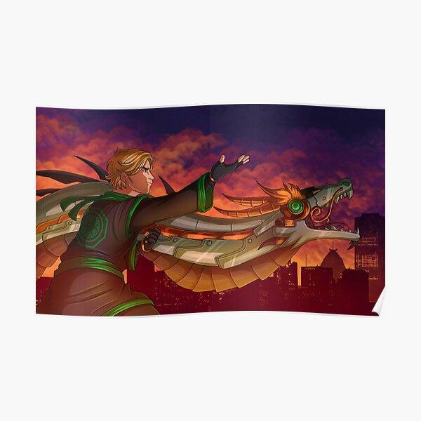 Lloyd's Dragon Dance  Poster