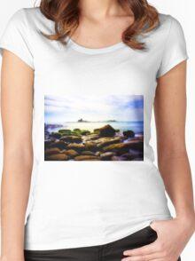 Coastline Baja Norte Women's Fitted Scoop T-Shirt