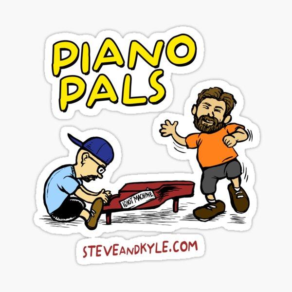 Piano Pals Sticker